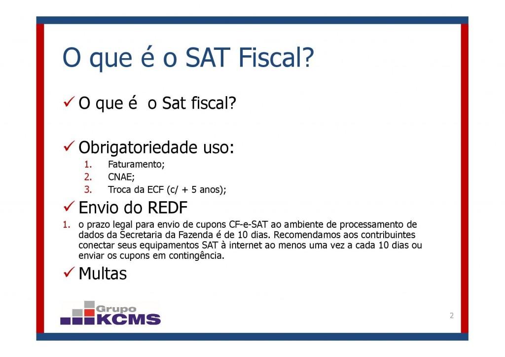 Dúvidas mais comuns SAT CF-e